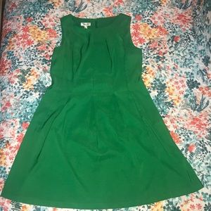 Dress Barn Green Sleeveless Dress